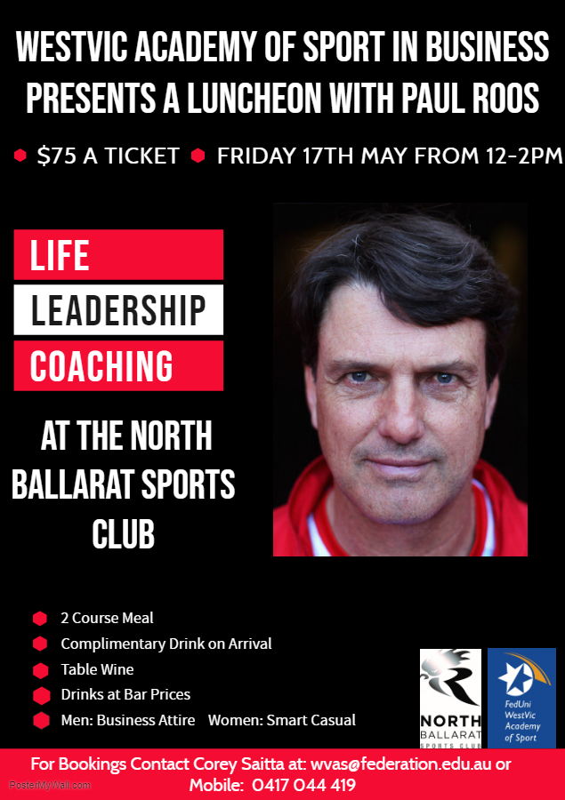 Lunch With Paul Roos