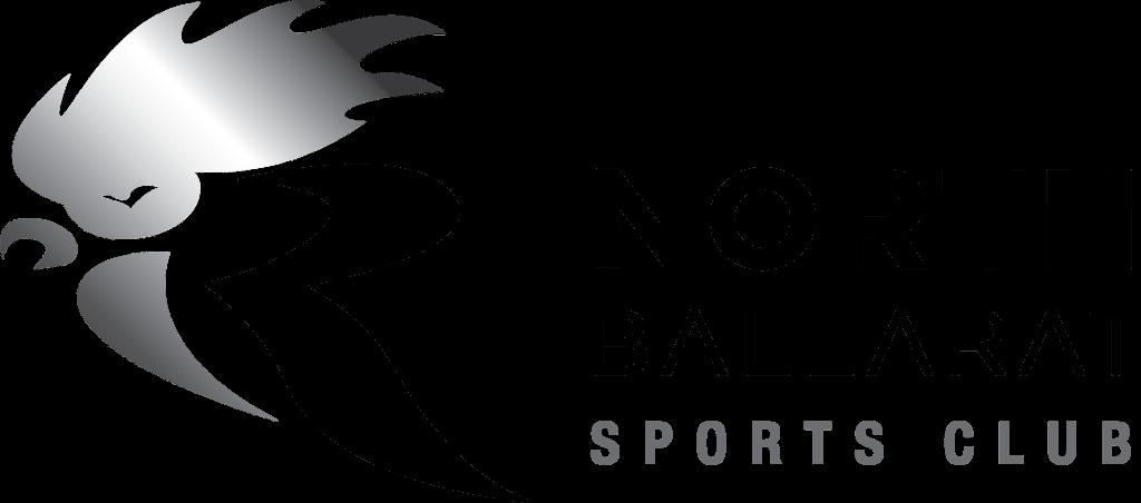 Club Logo (Transparent) - Landscape - Silver & Black